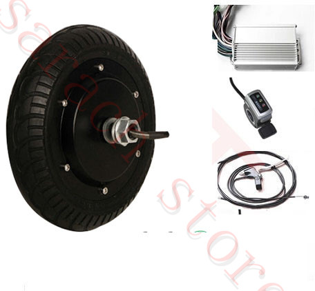8 450W 24V electric  brushless wheel hub motor , electric scooter motor kit , electric skateboard motor kit купить