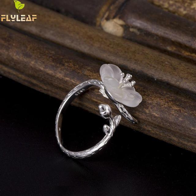 Фото женские открытые кольца из стерлингового серебра 925 пробы с цена