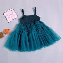 Short Frock For Girls Gown Strapless Bling Dress Kids Dresses Princess Party Ball Gown Children Sparkling Clothing Wear