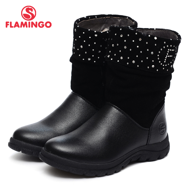 FLAMINGO 2016 new collection winter fashion kids high boots high quality anti-slip kids shoes for girls W6CH261 велосипед giant anthem 27 5 2 2014