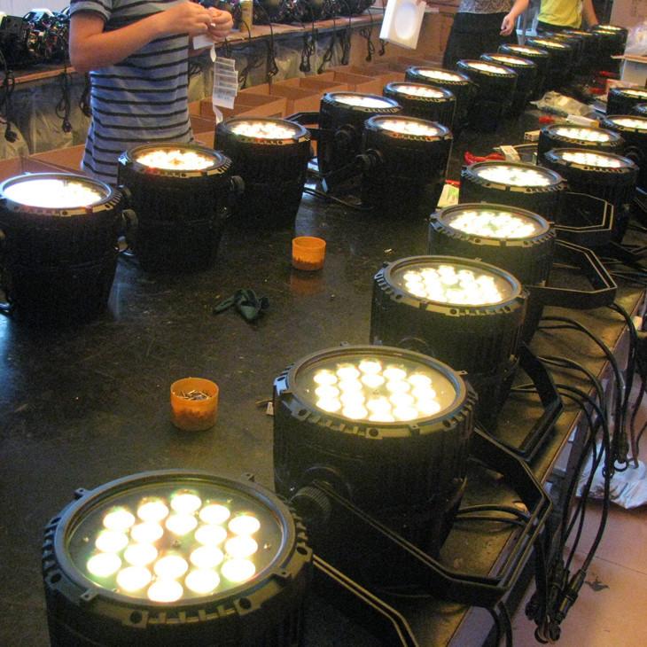 LED PAR LIGHT WATERPROOF 65
