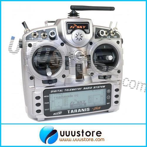 FrSky 2.4G Taranis X9D Plus 16CH Telemetry Transmitter (open source)   Plus Edition (no receiver, no battery)