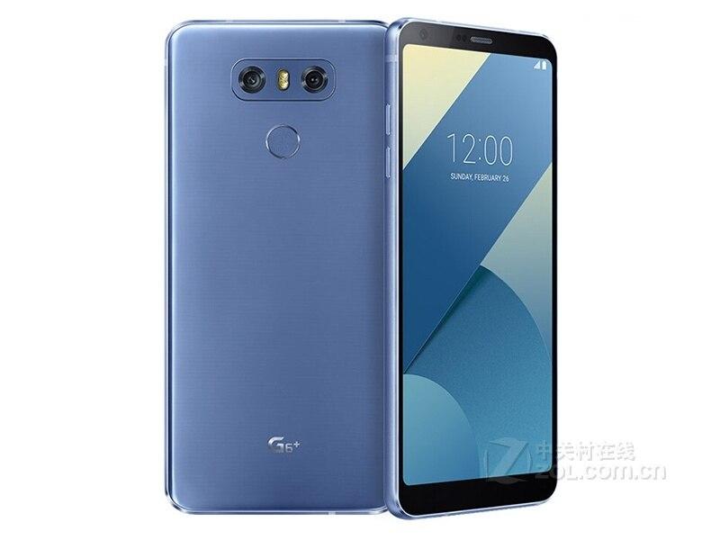 Разблокированный LG G6 4G Оперативная память 32G/64 Встроенная память 13MP 5,7 ''4 аппарат не привязан к оператору сотовой связи мобильного телефона с одной Sim-картой H870 H871 H872 H873 VS988 Dual sim H870DS - Цвет: blue