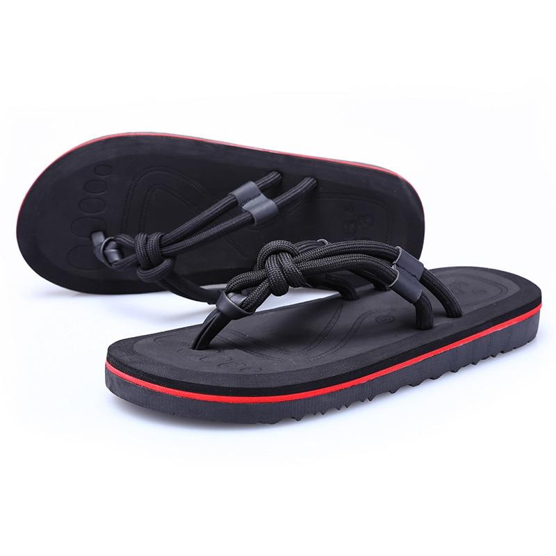 Hommes Flops Pantoufles Homme Chaussures brown Appartements De kaki Casual Sandales Zapatos D'été Plage Doux Flip Eva Plat Noir 2018 5Ajq4RLS3c