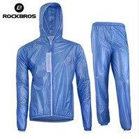 ROCKBROS Breathable Men S Waterproof Cycling Jersey Jacket MTB Bike Raincoat Bicycle Running Jacket Rain Coat