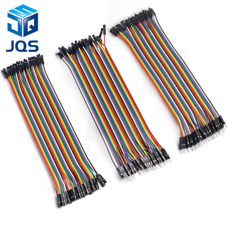120Pcs Female To Female+Male To Male+Male To Female Jumper Cable Dupont Wire iq