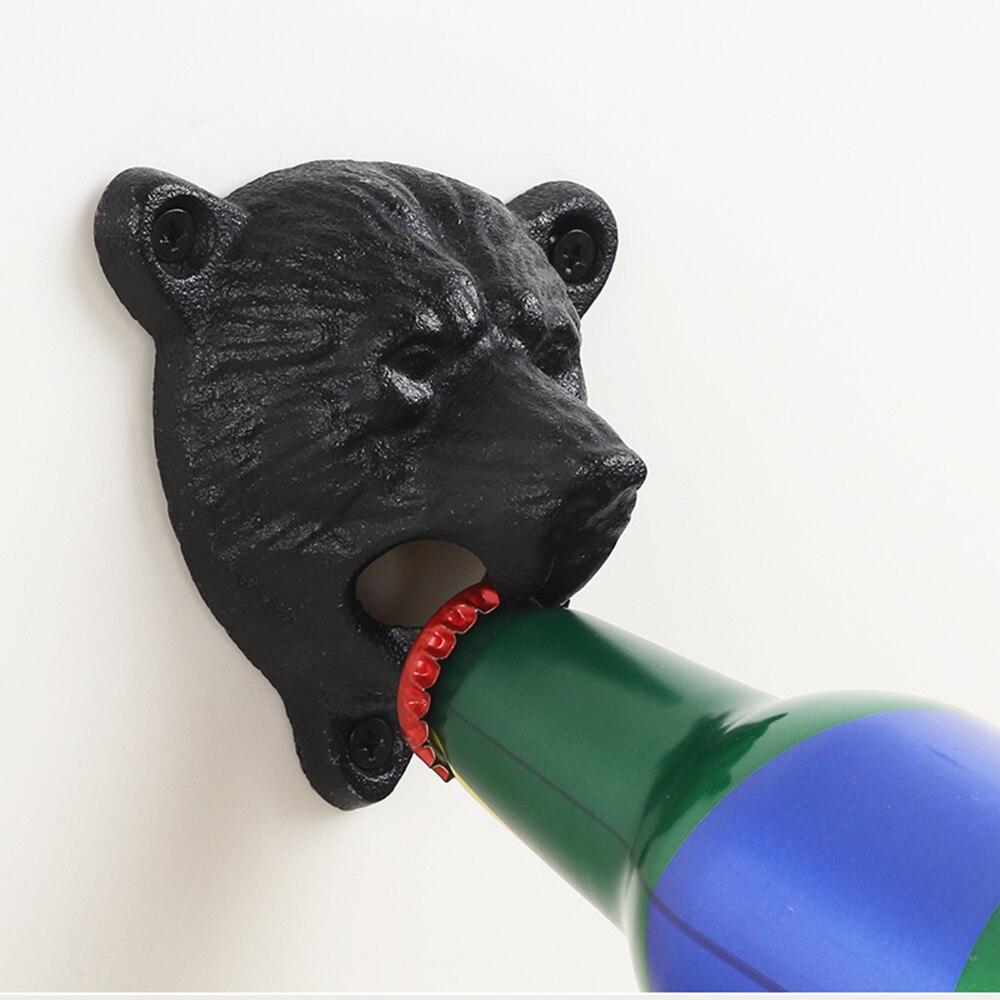 Чугунный винтажный штопор для бутылок настенный вино газированные напитки открывалка инструменты барные пивные открыватели аксессуары домашние кухонные вечерние принадлежности|Открывалки|   | АлиЭкспресс - Открывашки для пива