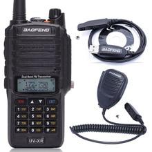 Baofeng UV XR 10 W High Power 4800 mAh Wasserdicht Dual Band Walkie Talkie Two Way Radio + Ein Lautsprecher Mic + eine Programmierung Kabel
