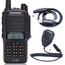 Baofeng UV XR 10W haute puissance 4800mAh étanche double bande talkie walkie Radio bidirectionnelle + un haut parleur Mic + un câble de programmation