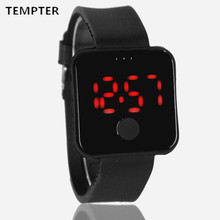 Top 2017 Children's watches Lovely 12 Colour Fruit Kids LED Electronic Clock Fashion Kids Boys Girls Wristwatch relogio TEMPTER