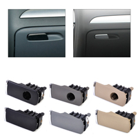 DWCX Plastik Eldiven Kutusu Kapağı Açık Kilit Kolu Çektirme Ile/Olmadan delik 8E1857131 Audi A4 için 2001 2002 2003 2004 2005 2006 2007
