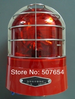 Higher star AC220V,23W public security sentry box big rotate warning lights,flashing beacon,emergency lamp,mounting by bolts