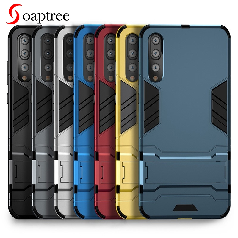 Armor Stand Cases For Huawei Y9 Y7 Prime Pro 2019 Y9 Y7 Y6 Y5 Prime Pro Lite 2018 2017 Case Capa For Huawei Honor 7A 7C Pro Case