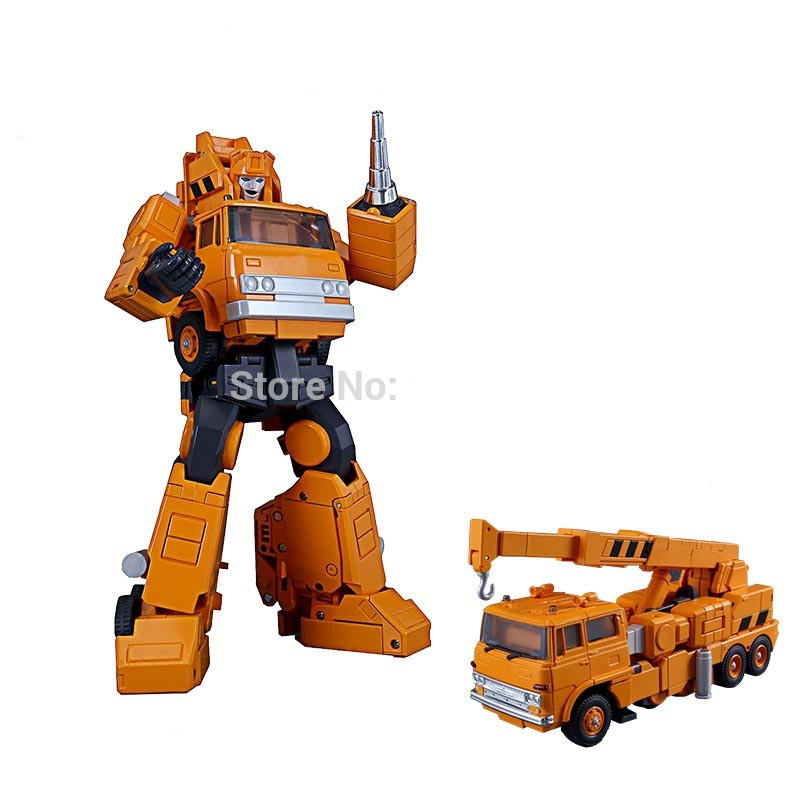 G1 TKR Transformation MP 35 MP35 Grapple Crane Model MasterPiece KO Collection Version Action Figure Robot