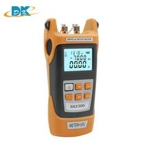 Optical Power Meter Tester Handheld Optical Laser Light Source SGZ305 -70~+3dBm Optical Power Meter+VFL 5MW Visual Fault Locator ls123 uv power meter tester spectral wavelength power meter 260nm 380nm