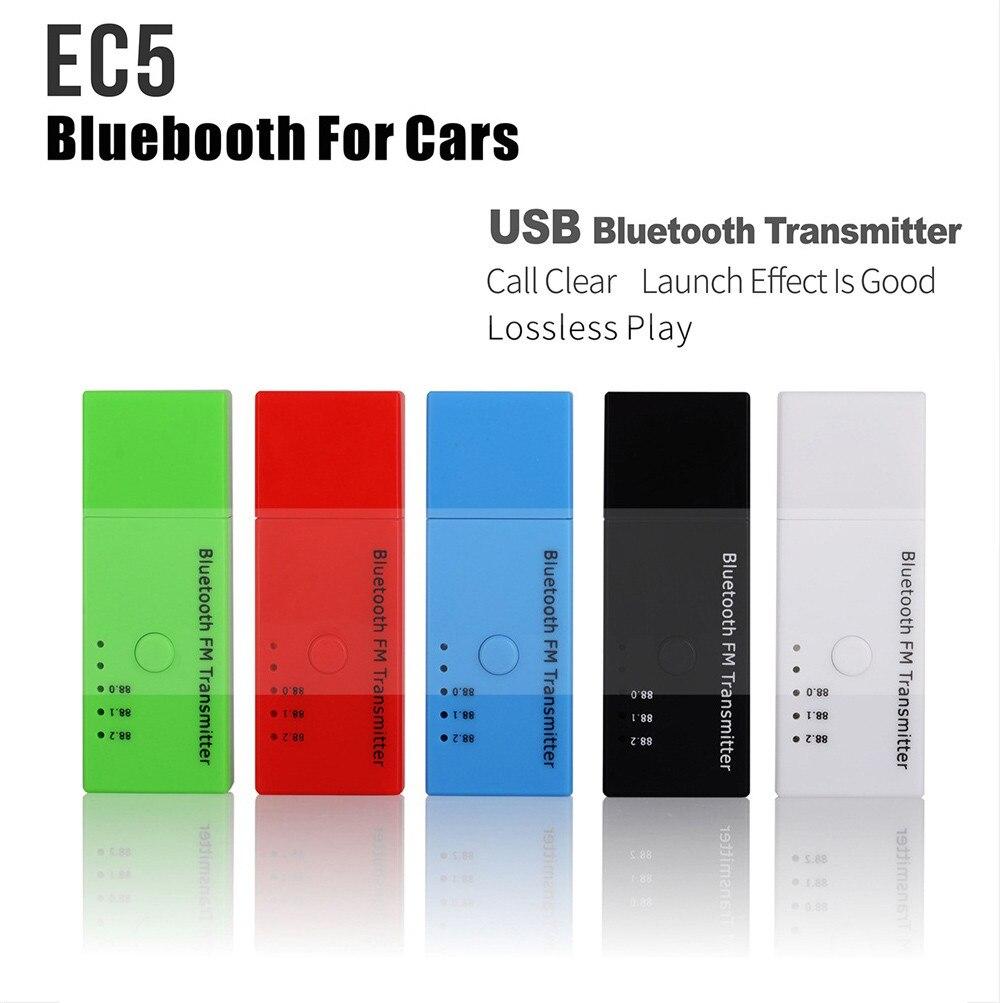 Willtoo Universal Mini Ec5 Car Kit Usb Wireless Bluetooth Fm Mp3 Player Connection Diagram 1ec5 Transmitter Radio Adapter