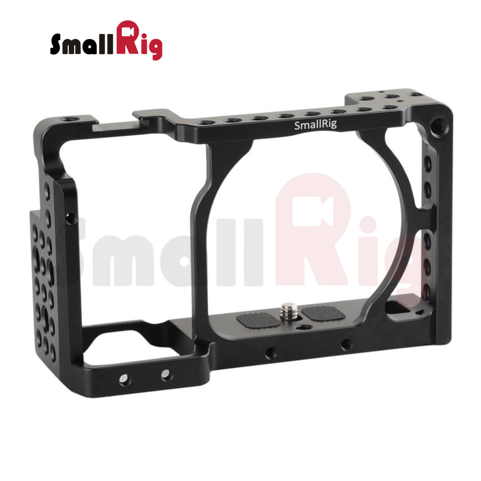 (New Version) SmallRig Cage for Sony A6300/A6000/A6500 ILCE-6000/ILCE-6300/ILCE-A6500 Sony Nex-7 Cage - 1661 new version smallrig cage for sony a6300 a6000 a6500 ilce 6000 ilce 6300 ilce a6500 sony nex 7 cage 1661
