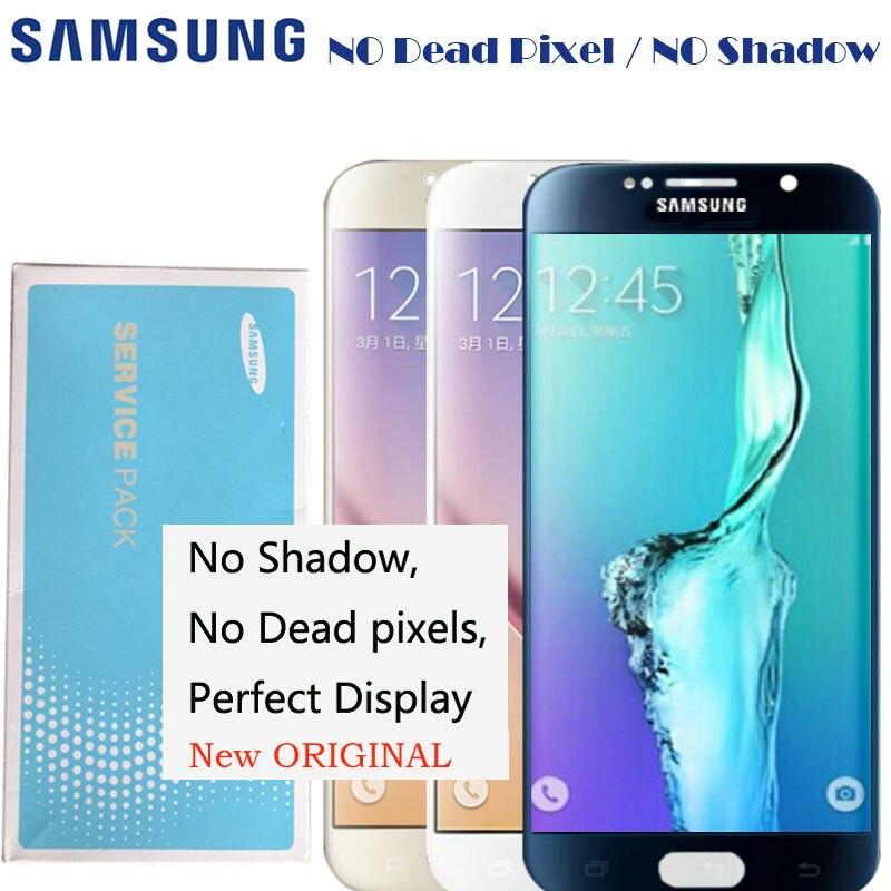 2560 1440 5 1 NEW ORIGINAL LCDS Display For Samsung galaxy S6 G920 G920i G920P G920f