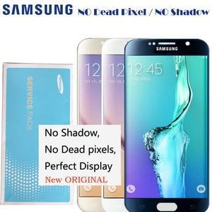 Image 2 - 2560*1440 5.1 Nieuwe Originele Lcd Display Voor Samsung Galaxy S6 G920 G920i G920P G920f G920V G920A Digitizer touch Lcd scherm