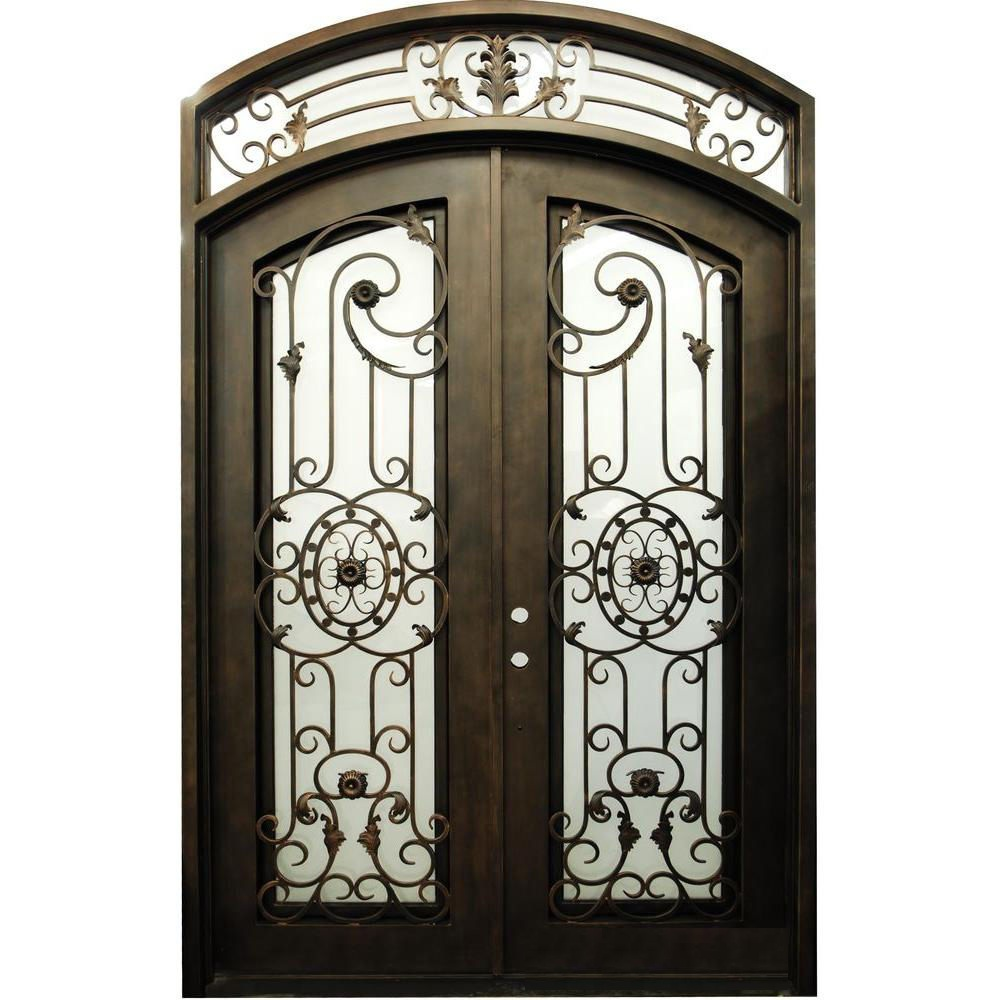 Compare prices on double entry door online shopping buy for Door design of iron