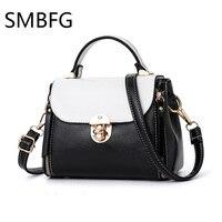 3d4da116edb67 2018 Women Letters Handbags Lock Zipper Small Flap Women Leather Office  Tote Bag Women S Pouch
