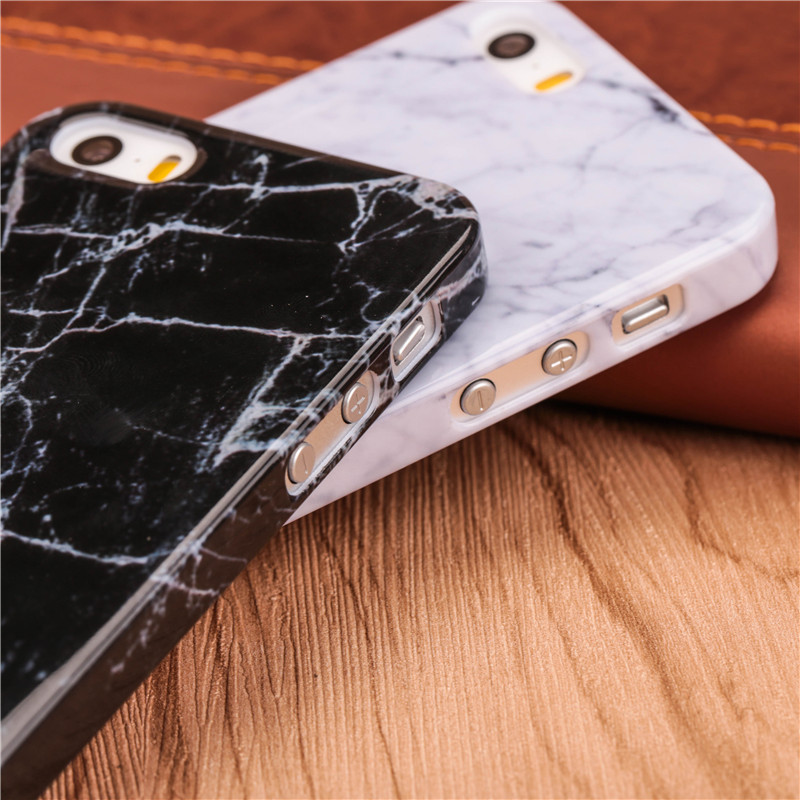 hot sale online a39db 4faa0 US $1.66 |Newest Case for iphone SE! Noble Marble Stone Texture Pattern  Hard PC Smooth Phone Cases for iPhone 5 5S Top Quality Rear Cover-in ...