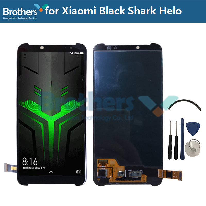 LCD Display For Xiaomi Black Shark Helo LCD Screen for Black Shark Helo LCD Assembly Touch Screen Digitizer Phone ReplacementLCD Display For Xiaomi Black Shark Helo LCD Screen for Black Shark Helo LCD Assembly Touch Screen Digitizer Phone Replacement