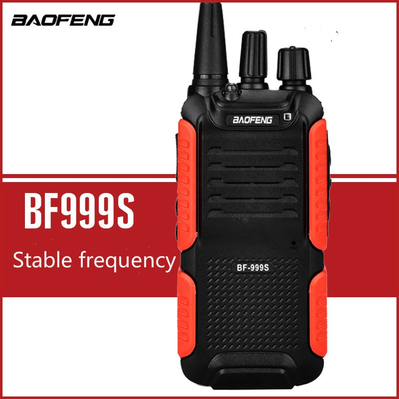 2018 New Design BAOFENG BF-999S Walkie Talkie Portable Two Way Button Intercom Wireless Interphone Outdoor Equipment Security