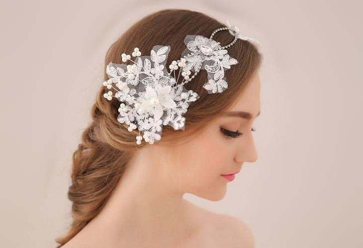 Handmade Crystal Bridal Headband Head Jewelry Rhinestone Wedding