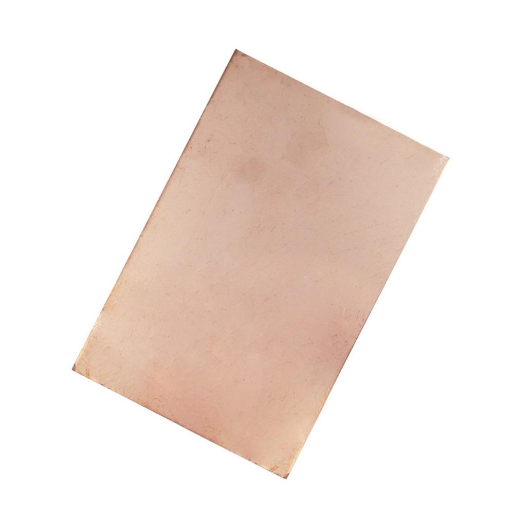 1 шт. FR4 пустая медная плакированная печатная плата с одной стороны 15X20cm PCB