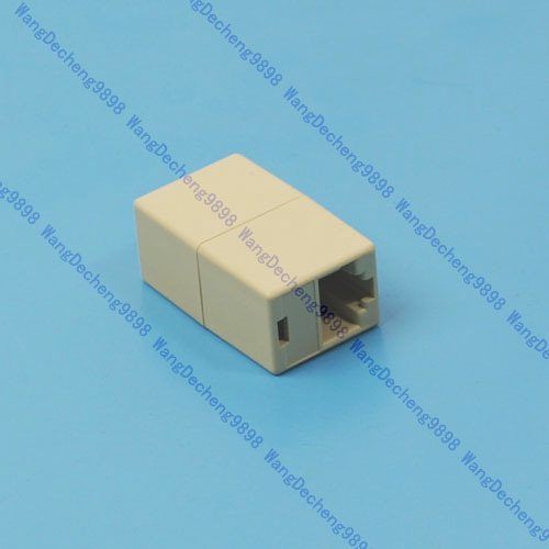 B86 5pcs/lot RJ45 CAT5 CAT5E Network Ethernet Connector Adapter New