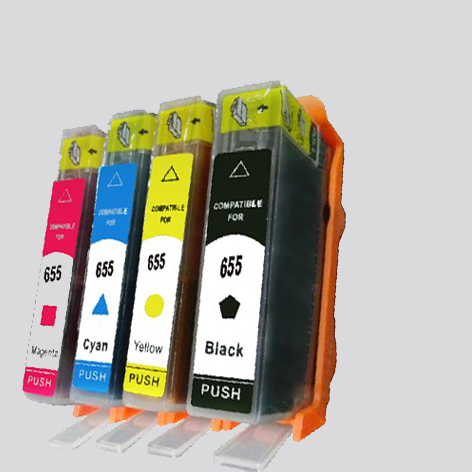 For HP 655 compatible printer ink cartridges for hp 655 ink cartridge with chip for hp Deskjet 3525 4615 4625 5525 6520 6525 compatible ciss for hp655 hp 655 for hp deskjet 4615 4625 3525 5525 with ink level chip
