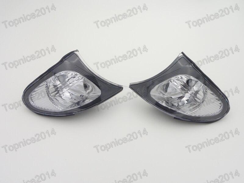 2шт передние поворотники лампы сигнала поворота лампы для BMW 3-Серия E46 2001-2004