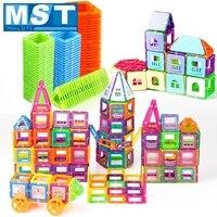 134PCS Mini Magnetic Blocks Model & Building Toy Plastic Magnetic Designer Construction Set Educational Toys For Kids Gift