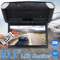 10.1 Inch TFT LCD Digital Screen Car Roof Mounted Display Monitor Car Ceiling Flip Down Overhead Monitor for Car Bus
