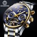 OCHSTIN 2019 di affari della vigilanza degli uomini Automatici orologio da uomo orologi Tourbillon impermeabile top brand orologio Meccanico relogio masculino