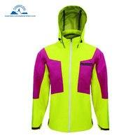 Для женщин водонепроницаемые ветровки куртки кожа дождевик путешествовать с капюшоном верхняя одежда быстросохнущая Открытый Велоспорт Б