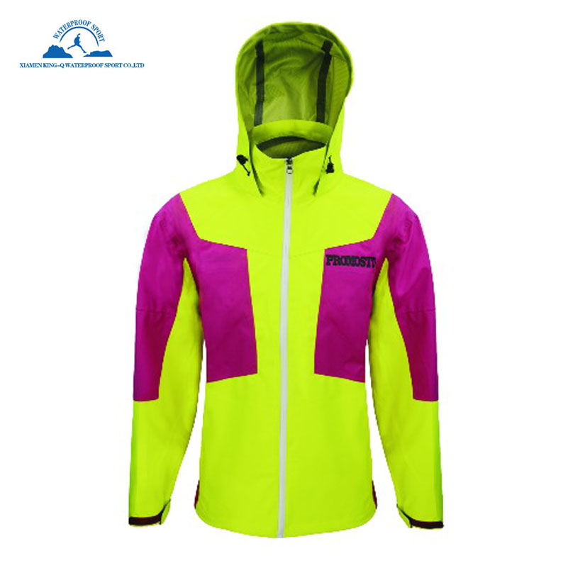 Mujeres Waterpoof cortaviento chaqueta de piel chaqueta impermeable - Ropa deportiva y accesorios