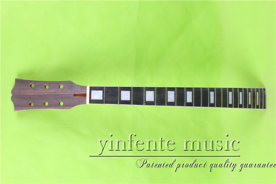 L -00124# 24.75 Electric guitar neck ebony fingerboard fine quality 22 fret ps 00104 24 75 electric guitar neck rosewood fingerboard fine quality 22 fret