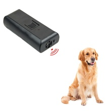 2018 black Repellents Ultrasonic drive dog without battery Pets dog Supply Repeller Anti Barking Stop Bark