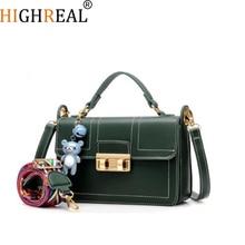 HIGHREAL Brand New Women Handbags Sac A Main Crossbody Bags Designer Handbags High Quality PU Leather Flap Bolsos Mujer Hot
