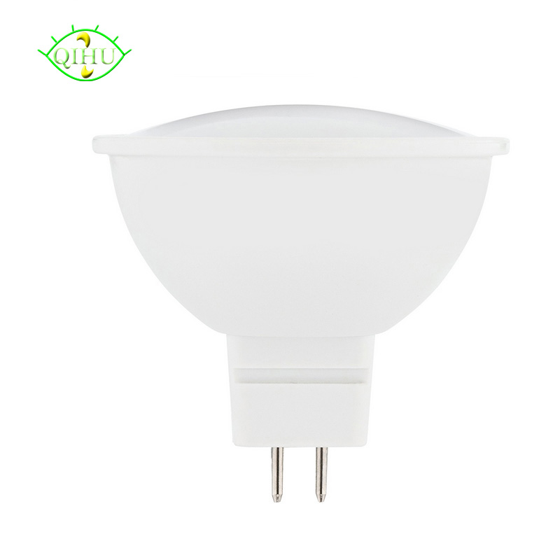 DC 12V Mr16 LED Bulbs Gu10 110V 220V Spotlights SMD 5730 Dimmable Lamps  Home Lighting White Pc+Aluminum Real Watt