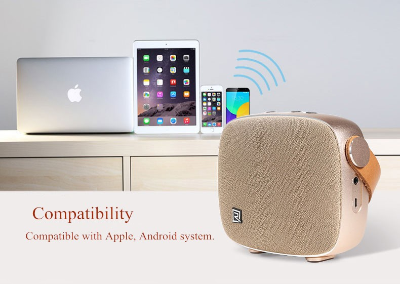 Portable Desktop Speakers Wireless Bluetooth Speaker Remax RB-M6 HIFI Handsfree Design fm radio soundbar for smart phone (14)