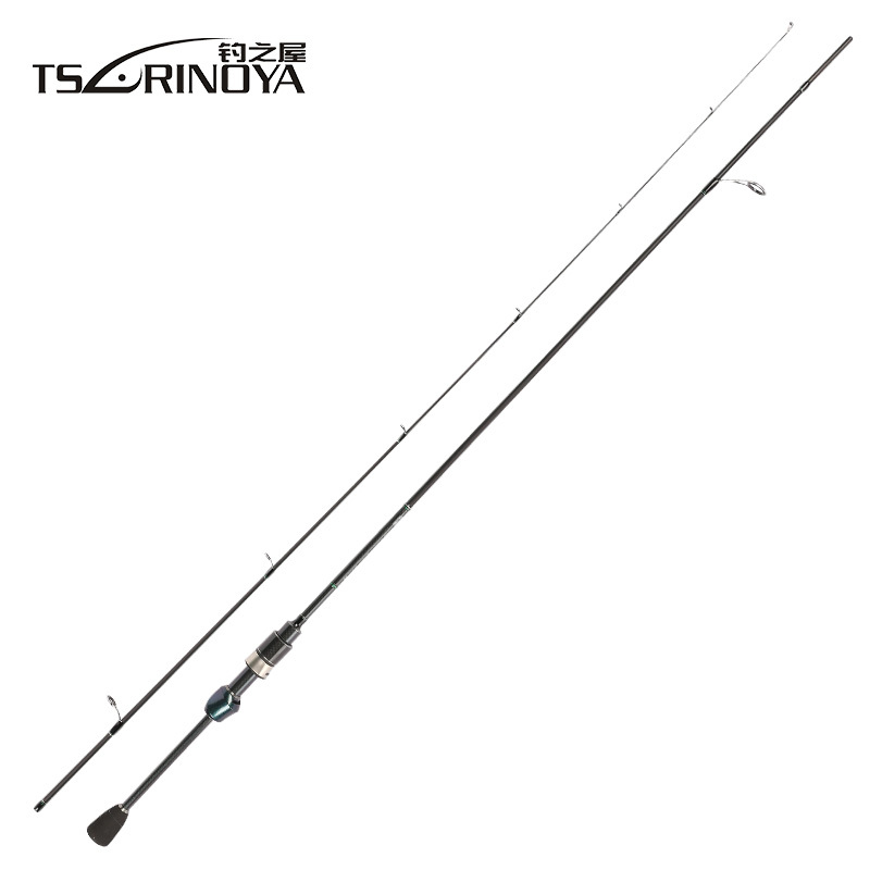 TSURINOYA Dexterity 1.89m UL Spinning Fishing Rod Fast Action Carbon Fiber Bass Carp Trout Portable Fishing Spinning Rod Pole free shipping to russian new bass fishing rod 1 53m spining carbon fiber jigging trolling bass fishing rod saltwater sea ocean