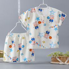 Fashion Girls Hot Sale Printing Outfits Toddlers Kids Milk Silk Clothes Set T Shirt Cotton Silk Shorts Boutiques Baby Girls Boys цена 2017