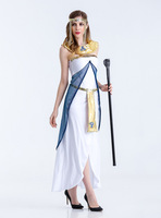 Sexy Adult Women Egyptian Goddess Cosplay Costumes Women Sexy Arabic Dancing Party Dress Adult Nightclub Stage