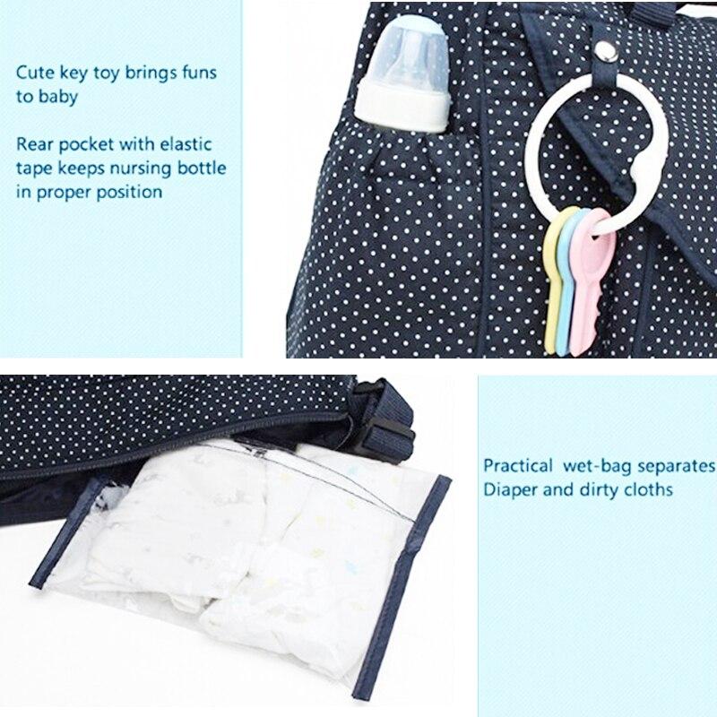 tecido do bebê bolsa mummy Name : Bolsas Femininas, baby Travel Bag, bolsa Infantile