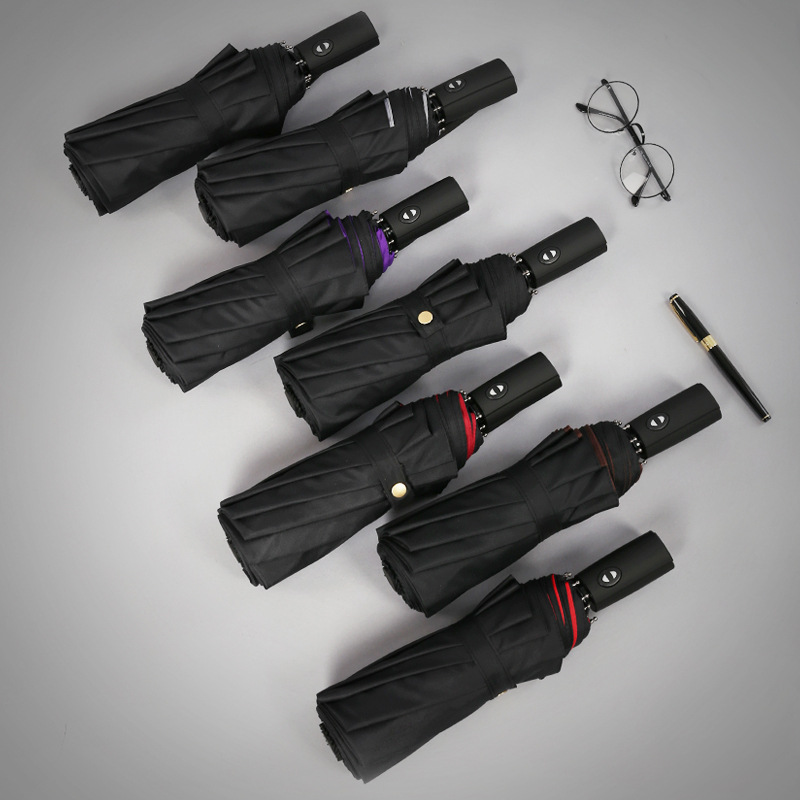Double layer Windproof Fully-automatic Umbrellas 1