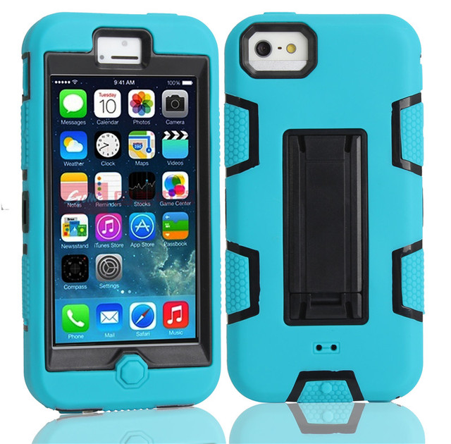 For Apple iPhone 5C Screen Protective Shell Skin Phone Case