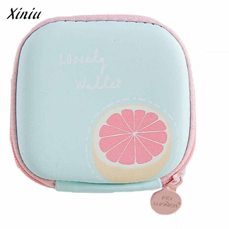 Coin purse small purses Portable Mini Round Storage Case Bag for Earphone Headphone Cards Storage monederos para mujer spark storage bag portable carrying case storage box for spark drone accessories can put remote control battery and other parts